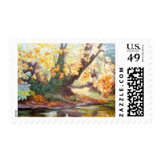 Autumn on the Darent 1999 Postage