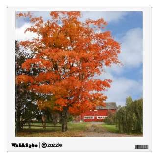 Autumn on the Farm Wall Sticker