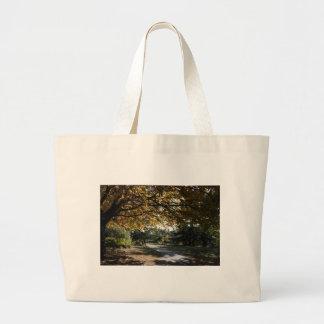 Autumn on the Gorge Jumbo Tote Bag
