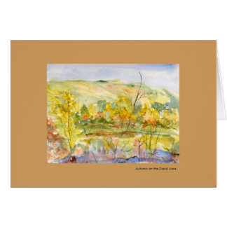 Autumn on the Grand Mesa Watercolor Template
