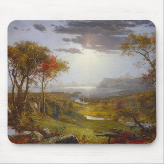 Autumn On the Hudson River Mouse Pad