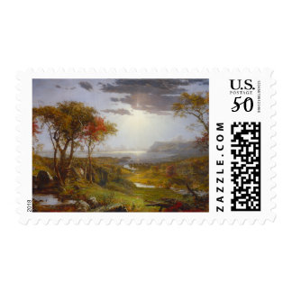Autumn On the Hudson River Postage