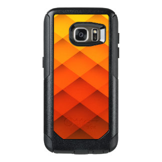 Autumn Orange Color Pattern OtterBox Samsung Galaxy S7 Case