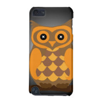 Autumn Orange Owl iPod Touch (5th Generation) Cover