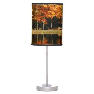 Autumn Outdoors Table Lamp