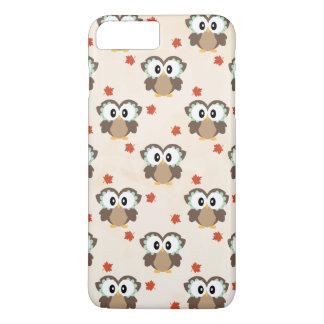 Autumn Owl and Maple Leaf iPhone 8 Plus/7 Plus Case