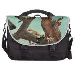 Autumn Owl Laptop Bag