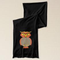 Autumn Owls Scarf
