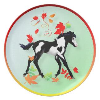 Autumn Paint  Plate