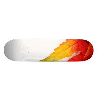 Autumn Painterly Leaf Skateboard Decks