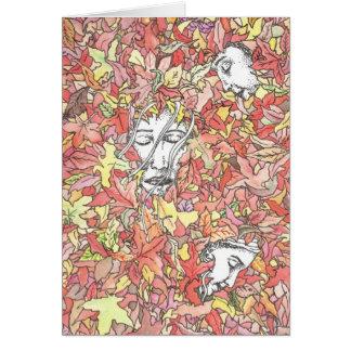 Autumn Painting Card