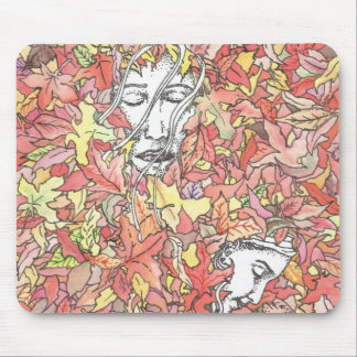 Autumn Painting Mouse Pads