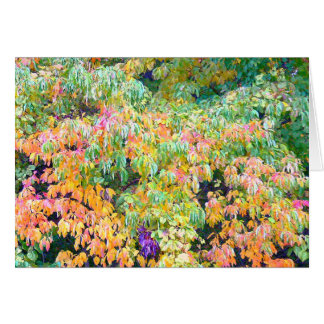"""""""AUTUMN PALETTE"""" (PHOTOG.) NOTECARD STATIONERY NOTE CARD"""
