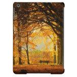 Autumn park iPad air covers