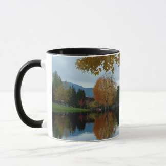 Autumn park photoraphy mug