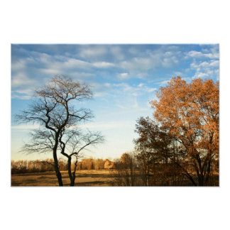 Autumn Pastoral Fall Photo in Brandywine Valley Posters