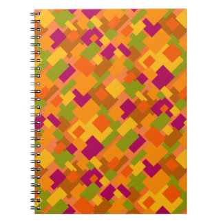 Autumn Patch 2 Abstract Art Notebook 80pg Diagonal