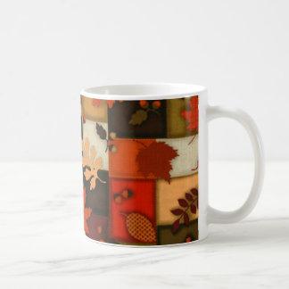 Autumn Patchwork Coffee Mug