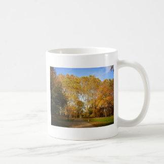 Autumn Path, Central Park, New York City Coffee Mug