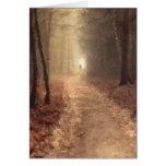 Autumn Path Greeting Cards