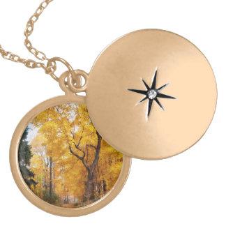 Autumn Path Custom Necklace