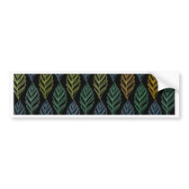 Autumn pattern b bumper sticker