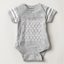 Autumn pattern baby bodysuit