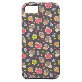 autumn pattern iPhone 5 cover