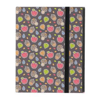 autumn pattern iPad case