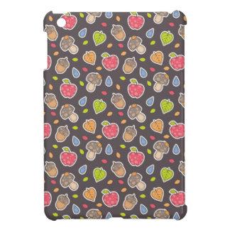 autumn pattern iPad mini cover