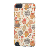 Autumn pattern. Owls in the forest iPod Touch (5th Generation) Cover