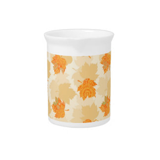 Autumn Patterns Beverage Pitcher