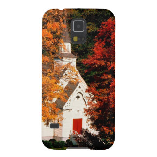 Autumn Peaking Color Vermont Galaxy S5 Covers