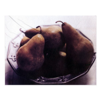 Autumn Pears Postcard