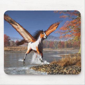 Autumn Pegasus Mouse Pads