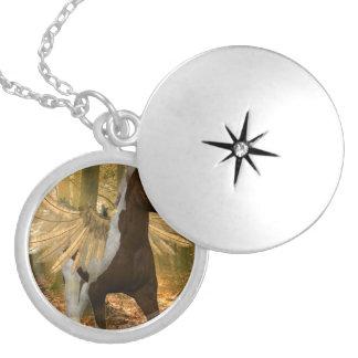 Autumn Pegasus Necklaces