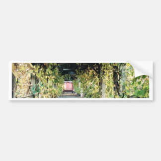 Autumn Pergola Bumper Sticker