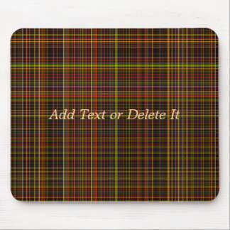 Autumn Plaid mousepad