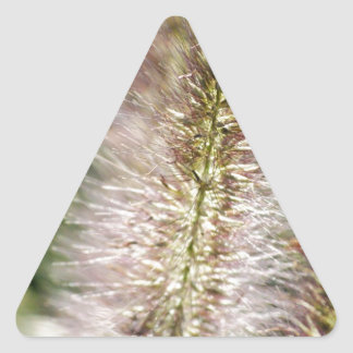 autumn plant triangle sticker