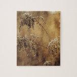 Autumn Plants, Sepia, Peaceful Jigsaw Puzzles
