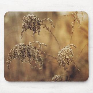 Autumn Plants, Sepia, Peaceful Mouse Pad