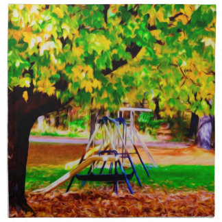 Autumn Playground 1 Napkin