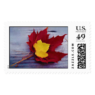 Autumn Poems Postage Stamps