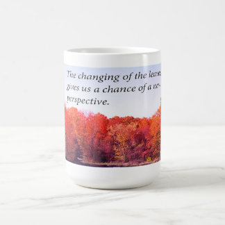 Autumn Pond And New Perspective Mug