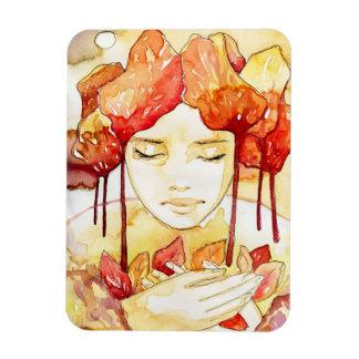 autumn portrait magnet