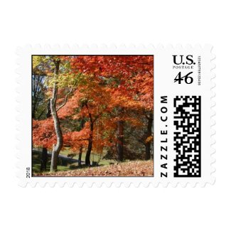 Autumn Postage stamp