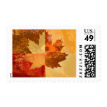 Autumn Postage Stamps