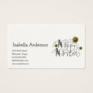 Autumn Primsies · Happy Harvest Business Card