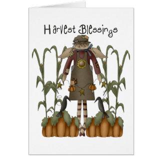 Autumn Primsies · Harvest Blessings Card