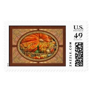 Autumn - Pumpkin - Great Gourds Postage Stamps
